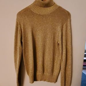 Westbound Gold Long Sleeve Sweater - S